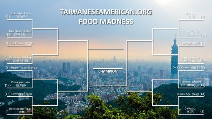 TaiwaneseAmerican.org Food Madness 2015