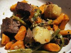 pressure cooker pot roast with vegetables