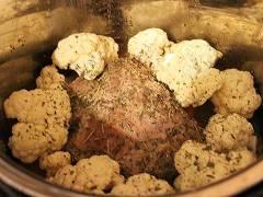 pressure cooker roast pork with vegetables