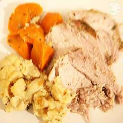 pressure cooker roast pork with vegetables